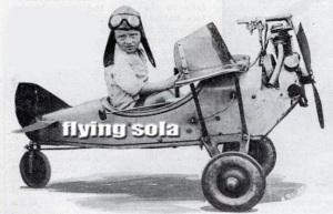 flying sola header