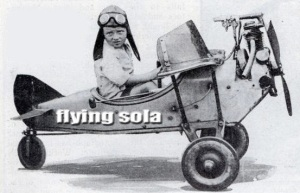 flying sola header