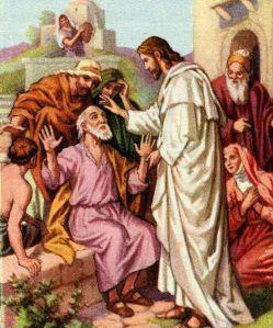 Blind Bartimaeus Mark 10:46-52