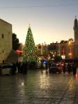 Manger Square, Bethlehem, Dec. 2, 2013